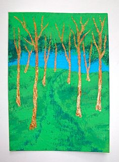 Twilight Woods 112 ARTIST TRADING CARDS 2.5 x 3.5 by MikeKrausArt