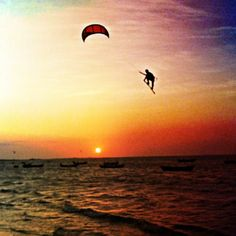 kitesurf @ sunset