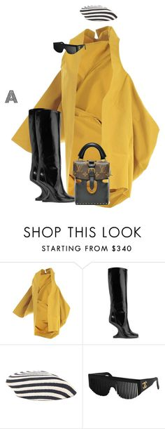 """""""Untitled #633"""" by stylzbyang ❤ liked on Polyvore featuring Rick Owens, Gucci and Chanel"""