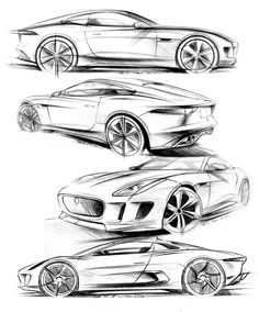 93 best car images on pinterest cars rolling carts and bmw i8 1956 Chevrolet 210 Interior matthew beaven s jaguar concept production pencil sketches f type coupe