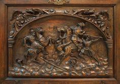189: испанское барокко возрождение резной VARGUENO регистрации): Лот 189