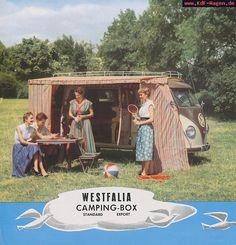 VW - 1956 - Westfalia Camping Box - [7522]-1