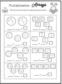 My Multiplication Packet - Multiplication Fact Practice by Ms Naomi's Resources Repeated Addition Multiplication, Multiplication Facts Practice, Italian Words, Third Grade Math, Group Work, Word Problems, Math Centers, Small Groups, How To Introduce Yourself