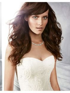 Perfect Beautiful Beaded Lace Silk A-Line Sweetheart Wedding Dress B044