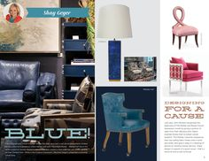 Blue/Designing for a Cause