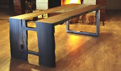 Bog Oak Table,wood 1600 years old,mooireiche tische, Coffe Table, Oak Table, Entryway Tables, Dining Room, Woodworking, Desk, Interior Design, Glass, Furniture