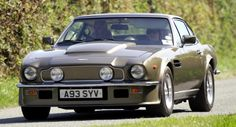 Aston Martin V8 from the 80s. Brutal looking car!