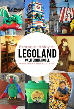 Travel: 8 Reasons to Stay at the Legoland Hotel - See Vanessa Craft Legoland California, California Vacation, Hotel California, Southern California, Have A Great Vacation, Great Vacations, Disney Vacations, Family Vacations, Vacation Ideas