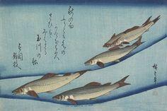 """Sweetfish""  Author: Utagawa Hiroshige (Japanese, 1797-1858)Date: ca. 1832Medium: Color woodblock printLocation: Minneapolis Institute of Arts"