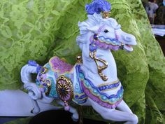 1990 Boxed Collectible Lenox Carousel Charger IOB by ChinaGalore, $145.00