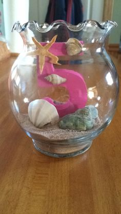 #5 center piece mermaid themed