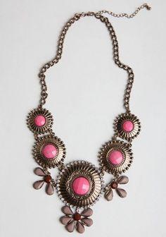 Morocco Medallion Necklace