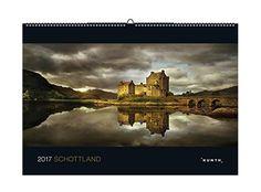 2017 Schottland: KUNTH-Kalender KUNTH Wandkalender Black Edition