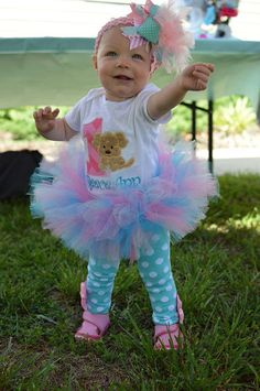 Puppy Pawty Birthday Tutu Outfit Puppy Themed by TickleMyTutu ...