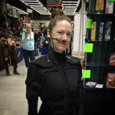 #chani #cosplay at #ECCC #dune #sandworms by nerdholistic