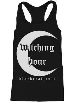 BLACKCRAFT CULT WITCHING HOUR RACERBACK TANK