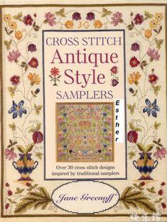 Gallery.ru / Фото #1 - Cross Stitch Antique Style Samplers by Jane Greenoff - Chispitas