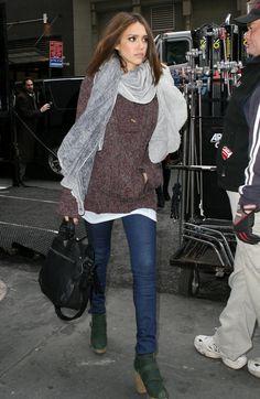 Jessica Alba in Rachel Comey Boots