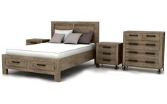 Take a look at this great Jean Marc Bedroom Suite I found at UFO!