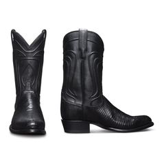 The Nolan is a handmade cowboy boot, crafted from supple lizard leather, featuring a calfskin shaft, leather sole & heel, and single-piece vamps and counters. Western Boots For Men, Boot Shop, Cowboy Boots, Shoe Boots, Footwear, Man Shop, Mens Fashion, My Style, Heels