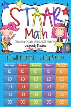 Th Grade Staar Math Jeopardy Game on 4th grade calendar math, 4th grade elementary math, 4th grade report cards, 4th grade guided math, 4th grade problem solving, 4th grade advanced math,