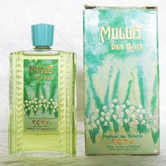 Coty Muguet des Bois................Mom wore this and so did I in the summer.....when I was a teen and into my twenties.