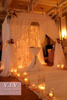 wedding ceremony decor arch