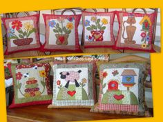Like the idea of turning an appliqué block into a pillow