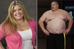 We're all fat again: More biggest loser' contestants reveal secrets Confirming what we know about weight science. About 5% may be able to keep it off long term. The rest will regain and a likely 60% will likely end up heavier. We also know that the behaviours required to achieve this kind of w/loss are often opposite of those needed to achieve health. Not to mention the mental and emotional distress of yet another perceived failure.