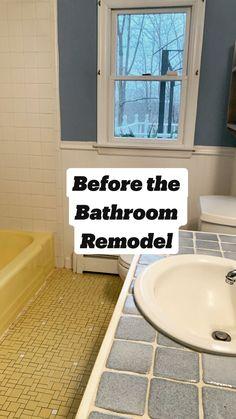 Restroom Remodel, Diy Bathroom Remodel, Diy Bathroom Decor, Simple Bathroom, Bathroom Styling, Bathroom Interior Design, Easy Bathroom Updates, Modern Bathroom Design, Bathroom Makeovers