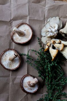 If only wild mushrooms weren't so expensive.... *sigh*  Luckily it's an easy one to veganize and will be... so, so, so amazing when I eventually (next time I go to the store) shell out the  $ to go there.