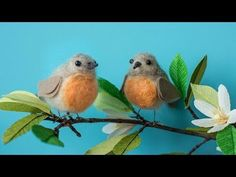 Needle Felting for Beginners - How To Make A Felted Bird - YouTube