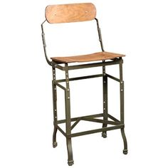Vintage, American Made, DoMore Health Adjustable Bar Stool | Seating (all)|Stools | Get Back Inc.