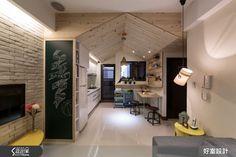 新婚首購就這麼辦! 14 坪的尖屋頂收納小木屋 | 設計家 Searchome