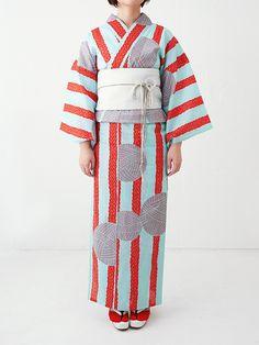 ドゥーブル メゾン「ゆかたと夏きもの展」開催 - カラフルな浴衣の販売やワークショップ