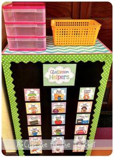 My Classroom!  My Classroom!  Love this cute polka dot classroom setup!