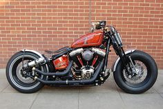 """Frisco Bobber"" a Cross Bones by Warrs London by Charles Nouÿrit, via Flickr"