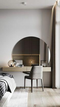 Room Design Bedroom, Home Room Design, Home Decor Bedroom, Bed Design, Home Interior Design, Interior Ideas, Modern Luxury Bedroom, Luxurious Bedrooms, Aesthetic Bedroom