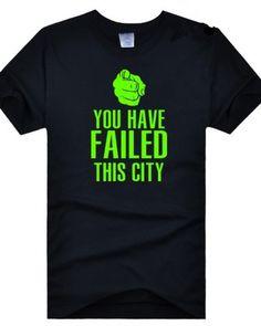 Green Arrow T-shirt Oliver Queen Classical Lines