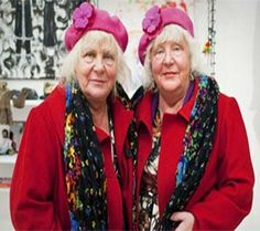 Amsterdam's oldest prostitute twins retire after bedding 355,000 men