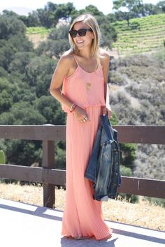 Lovers & Friends Coral Maxi Dress