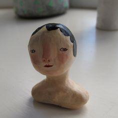 Tiny head by Cathy Cullis
