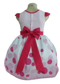 4909631a8f Vestido De Festa Masha E O Urso Infantil Menina Tia Gina. - Tia Gina  Vestidos