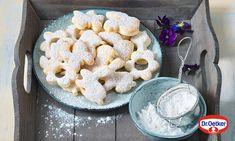 Tvarohové sušenky Recept | Dr. Oetker Cookies, Desserts, Food, Basket, Crack Crackers, Tailgate Desserts, Deserts, Biscuits, Essen