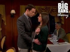 The Big Bang Theory - Sheldon Kisses Amy ... OMG I was shocked and excited and squealing and tearing up ... yes I'm way too invested in fictional characters lol