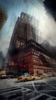 NYC Carnegie Hall, Fabien Margnac - Photographie d'art Carnegie Hall, Photos, Louvre, Nyc, Sakura, Building, Painting, Travel, Image