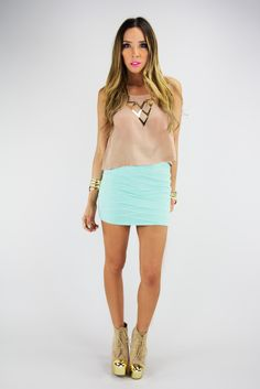 Cotton Basic Mini Skirt | Skirts | Pinterest | Mini skirts, Skirts ...