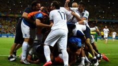 Greek spot-kick drama denies Ivorians Just as Côte d'Ivoire seemed destined to reach the FIFA World Cup knockout stages, a stoppage-time penalty from Georgios Samaras sent Greece through with a 2-1 victory.