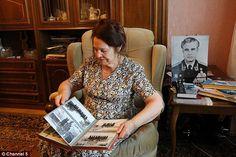 Proud: Arkopov's widow Olga said: 'I was proud and I am proud of my husband, always'widow Olga said: 'I was proud and I am proud of my husband, always.'