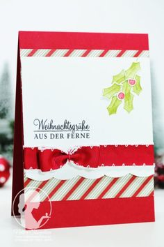 Project Life, Advent, Stampin Up Christmas, Berry, Simple Christmas, Creative, Christmas Cards, Happy, Happiness